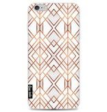 Casetastic Softcover Apple iPhone 6 Plus / 6s Plus - Copper Geo