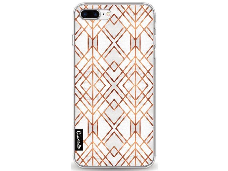 Casetastic Softcover Apple iPhone 7 Plus - Copper Geo