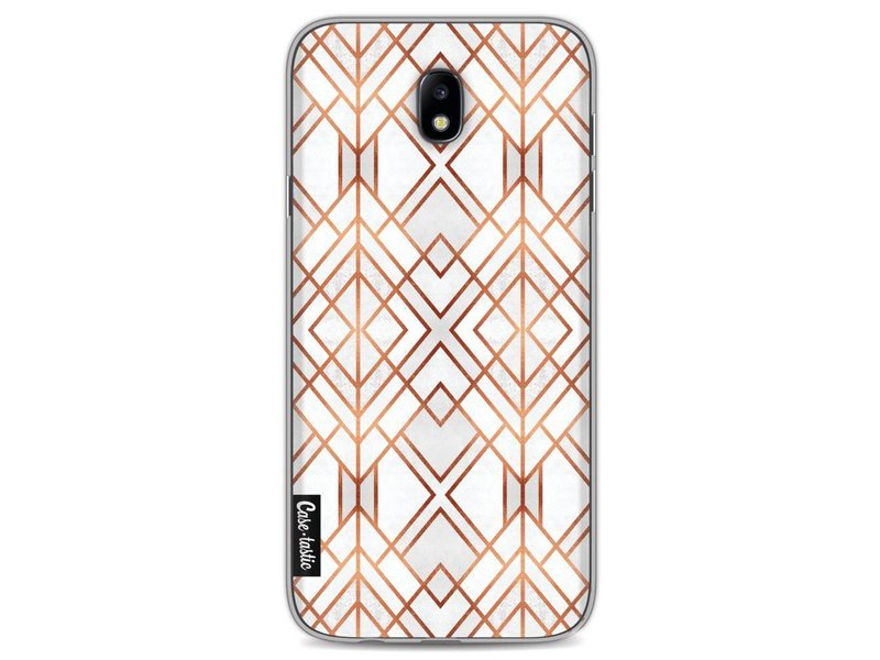 Casetastic Softcover Samsung Galaxy J7 (2017) - Copper Geo