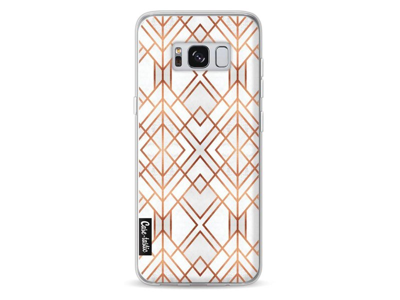 Casetastic Softcover Samsung Galaxy S8 - Copper Geo