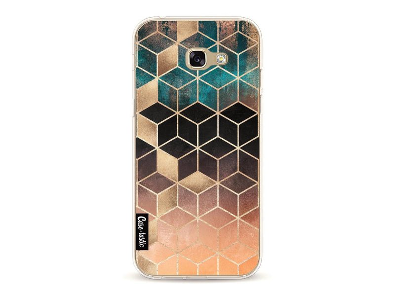Casetastic Softcover Samsung Galaxy A5 (2017)  - Ombre Dream Cubes