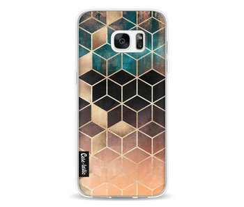 Ombre Dream Cubes - Samsung Galaxy S7 Edge