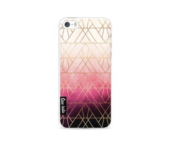 Pink Ombre Triangles - Apple iPhone 5 / 5s / SE