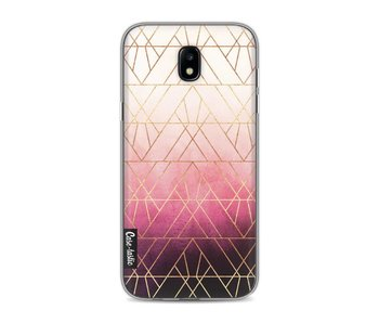 Pink Ombre Triangles - Samsung Galaxy J5 (2017)