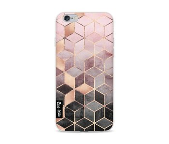 Soft Pink Gradient Cubes - Apple iPhone 6 / 6s