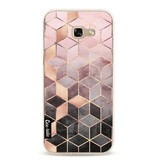 Casetastic Softcover Samsung Galaxy A5 (2017)  - Soft Pink Gradient Cubes