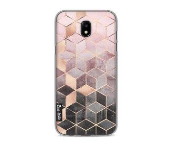 Soft Pink Gradient Cubes - Samsung Galaxy J5 (2017)