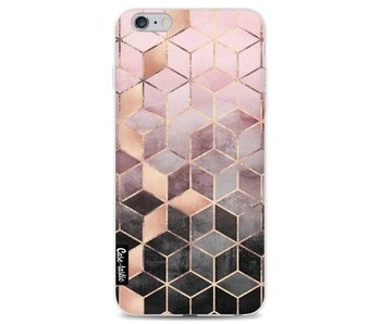 Soft Pink Gradient Cubes - Apple iPhone 6 Plus / 6s Plus