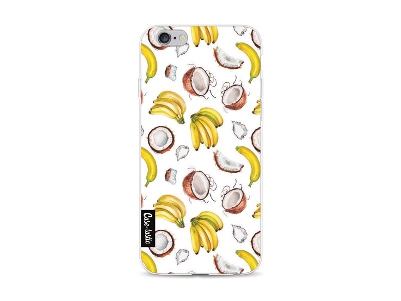 Casetastic Softcover Apple iPhone 6 / 6s  - Banana Coco Mania