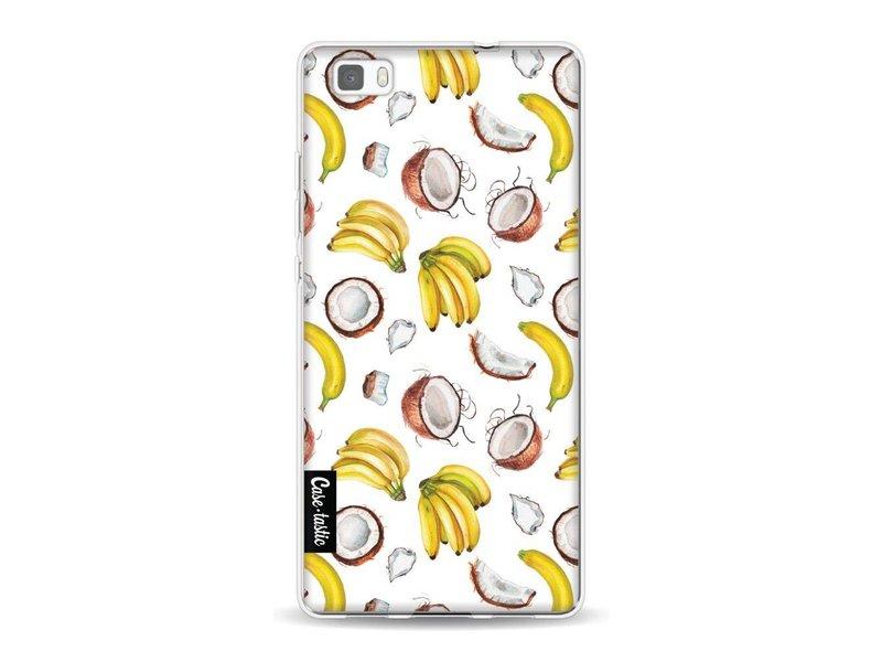 Casetastic Softcover Huawei P8 Lite - Banana Coco Mania