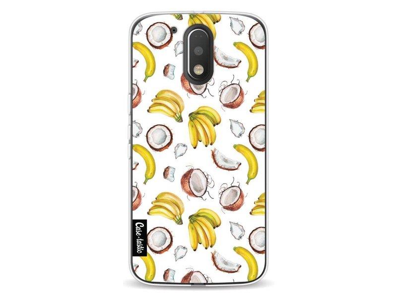 Casetastic Softcover Motorola Moto G4 / G4 Plus - Banana Coco Mania