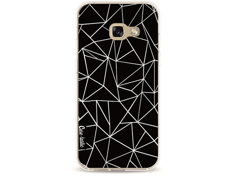 Casetastic Softcover Samsung Galaxy A3 (2017) - Abstraction Outline Black