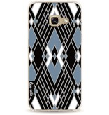 Casetastic Softcover Samsung Galaxy A3 (2017) - Art Deco Blue