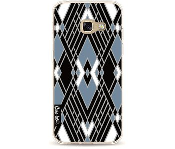 Art Deco Blue - Samsung Galaxy A3 (2017)