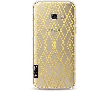 Art Deco Gold Transparent - Samsung Galaxy A3 (2017)
