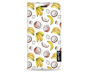 Banana Coco Mania - Wallet Case White Apple iPhone 5 / 5s / SE