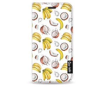 Banana Coco Mania - Wallet Case Black Apple iPhone 5 / 5s / SE