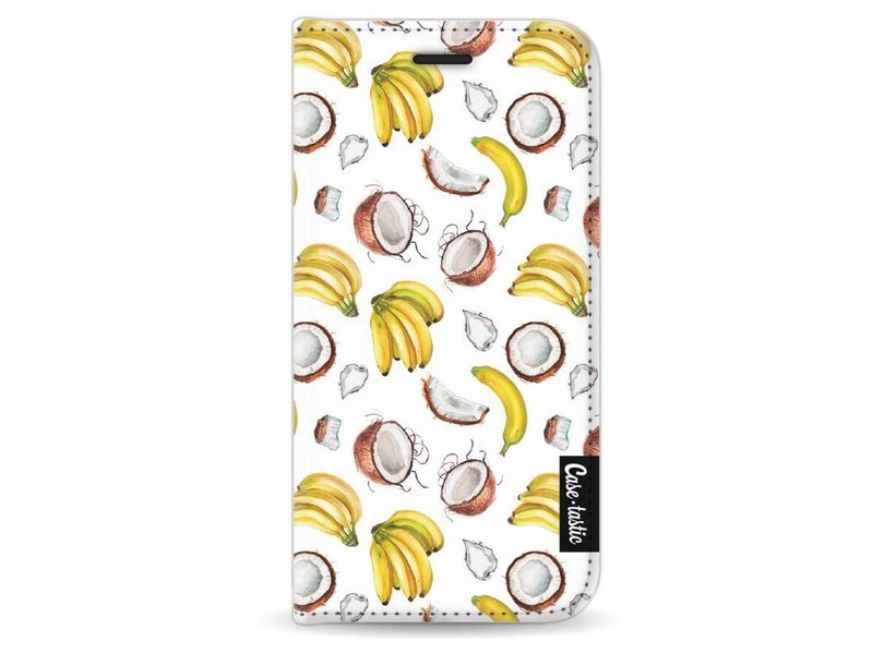 Casetastic Wallet Case Black Apple iPhone 5 / 5s / SE - Banana Coco Mania