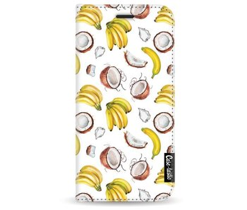 Banana Coco Mania - Wallet Case White Samsung Galaxy A3 (2017)
