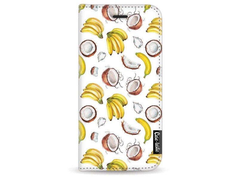 Casetastic Wallet Case White Apple iPhone 7 - Banana Coco Mania