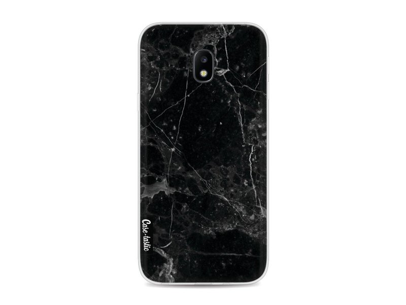 Casetastic Softcover Samsung Galaxy J3 (2017)  - Black Marble