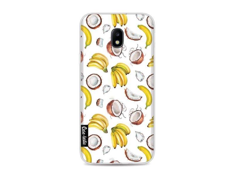 Casetastic Softcover Samsung Galaxy J3 (2017)  - Banana Coco Mania