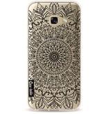 Casetastic Softcover Samsung Galaxy A3 (2017) - Black Mandala