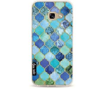 Aqua Moroccan Tiles - Samsung Galaxy A3 (2017)