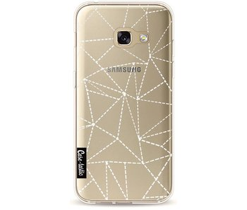 Abstract Dotted Lines Transparent - Samsung Galaxy A3 (2017)
