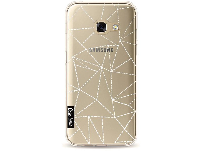 Casetastic Softcover Samsung Galaxy A3 (2017) - Abstract Dotted Lines Transparent
