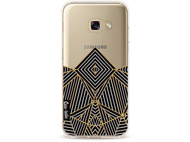 Casetastic Softcover Samsung Galaxy A3 (2017) - Abstraction Half Transparent