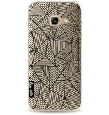 Casetastic Softcover Samsung Galaxy A3 (2017) - Abstraction Lines Transparent