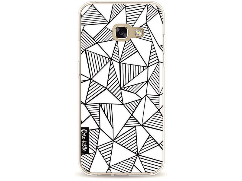 Casetastic Softcover Samsung Galaxy A3 (2017) - Abstraction Lines White