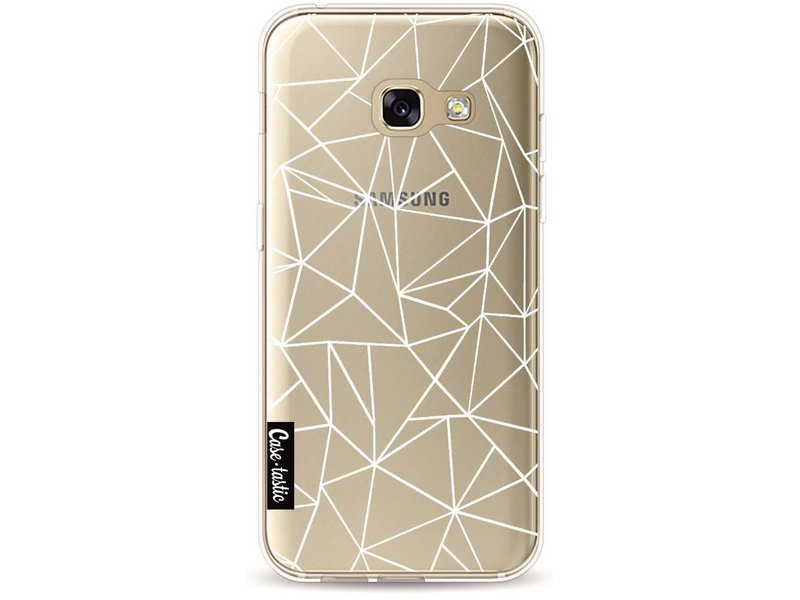 Casetastic Softcover Samsung Galaxy A3 (2017) - Abstraction Outline White Transparent