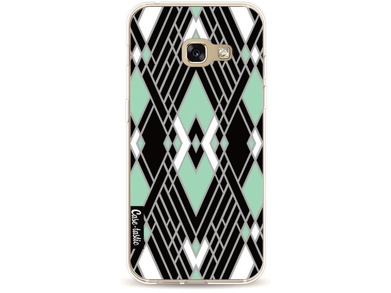 Casetastic Softcover Samsung Galaxy A3 (2017) - Art Deco Mint