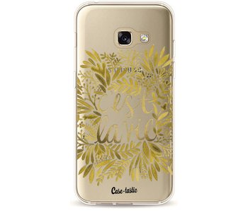 Cest La Vie Gold - Samsung Galaxy A3 (2017)