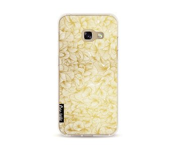 Abstract Pattern Gold - Samsung Galaxy A3 (2017)