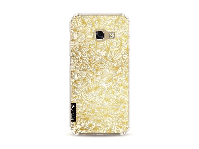 Casetastic Softcover Samsung Galaxy A3 (2017) - Abstract Pattern Gold