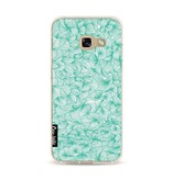 Casetastic Softcover Samsung Galaxy A3 (2017) - Abstract Pattern Turquoise