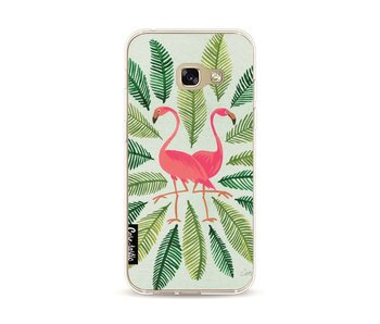Flamingos Green - Samsung Galaxy A3 (2017)