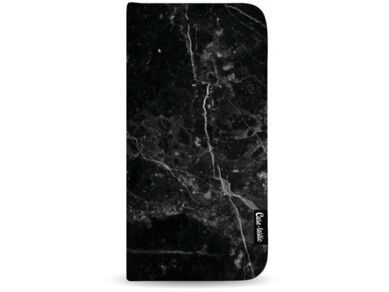 Casetastic Wallet Case Black Apple iPhone 7 Plus - Black Marble