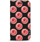 Casetastic Wallet Case Black Apple iPhone 7 Plus - All The Donuts