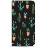 Casetastic Wallet Case Black Apple iPhone 7 Plus - Cactus Dream