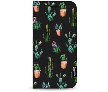 Cactus Dream - Wallet Case Black Apple iPhone 7 Plus