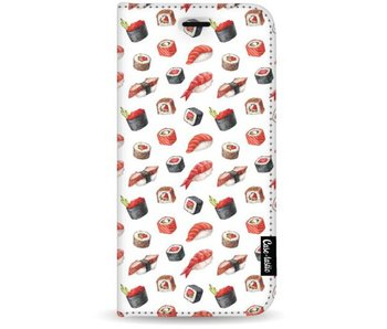 All The Sushi - Wallet Case White Apple iPhone 7 Plus