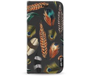 Feathers Multi - Wallet Case Black Motorola Moto G5
