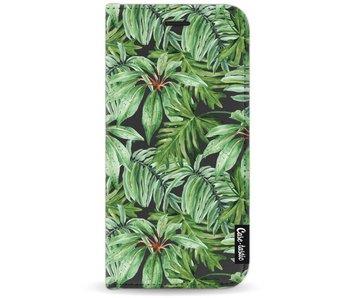 Transparent Leaves - Wallet Case Black Motorola Moto G5