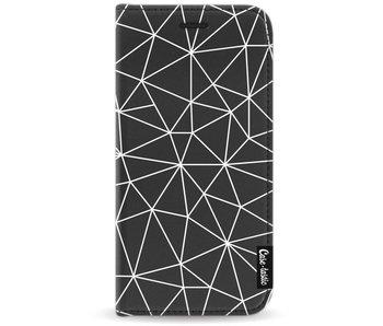 So Many Lines! White - Wallet Case Black Motorola Moto G5