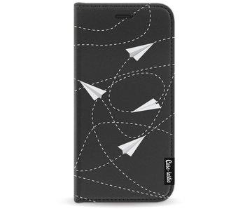 Paperplanes - Wallet Case Black Motorola Moto G5