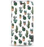 Casetastic Wallet Case White Motorola Moto G5 - Cactus Dream
